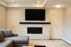 AFTER - Custom Fireplace
